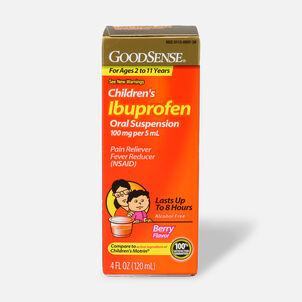 GoodSense® Children's Ibuprofen 100mg Oral Suspension, 4 fl oz