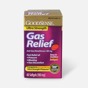 GoodSense® Gas Relief Ultra Strength Simethicone 180 mg Softgels, 60 ct