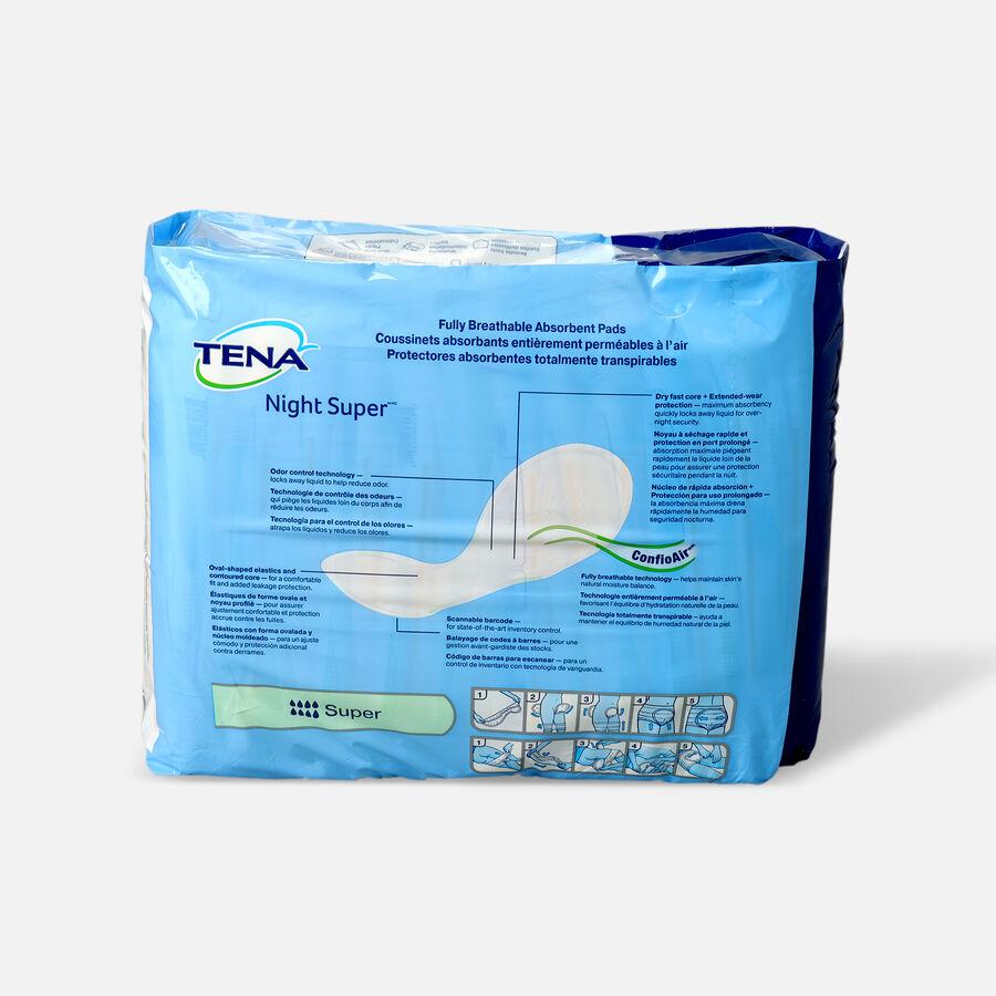 Tena Super Absorbency Night Pads, 24 ea, , large image number 1