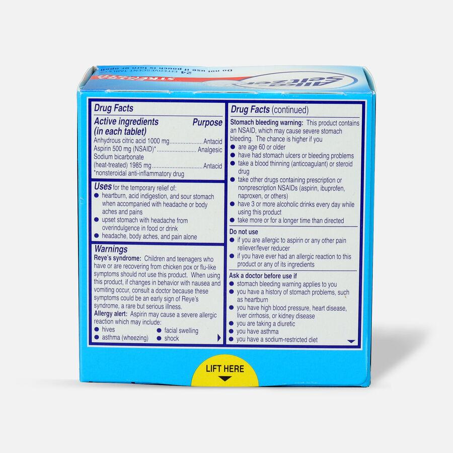 Alka-Seltzer Effervescent Tablets, Extra Strength, 24ct, , large image number 1