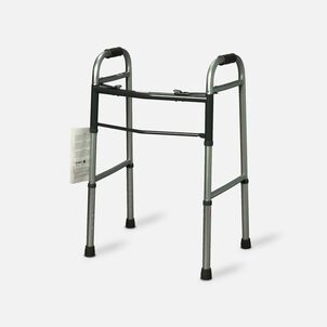 Guardian Easy Care Folding Walker with Out Wheels for Adults 30755p 1 Ea