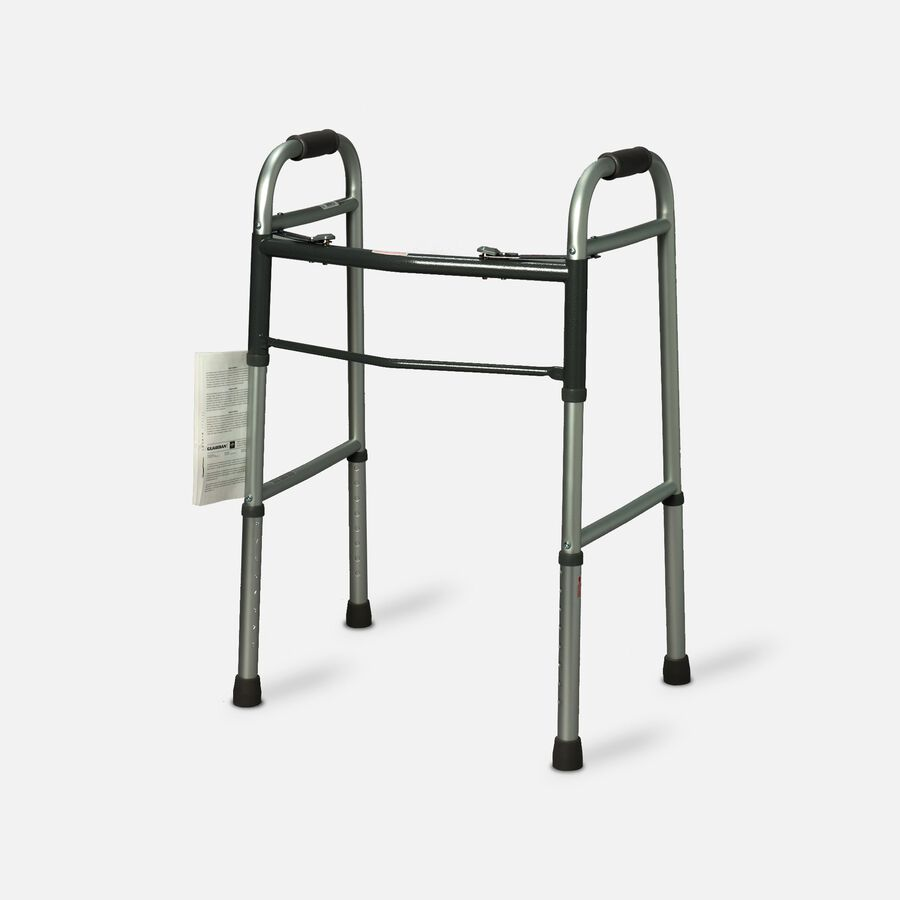 Guardian Easy Care Folding Walker with Out Wheels for Adults 30755p 1 Ea, , large image number 0