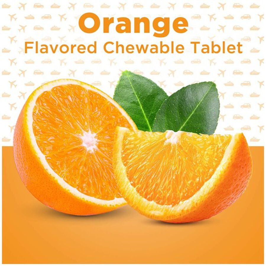 Dramamine Motion Sickness Relief Chewable Tablets, Orange Flavor, 8 ct, , large image number 5