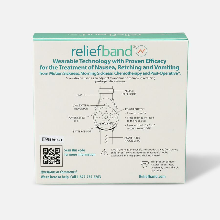 Reliefband Nausea Relief - Classic, , large image number 1