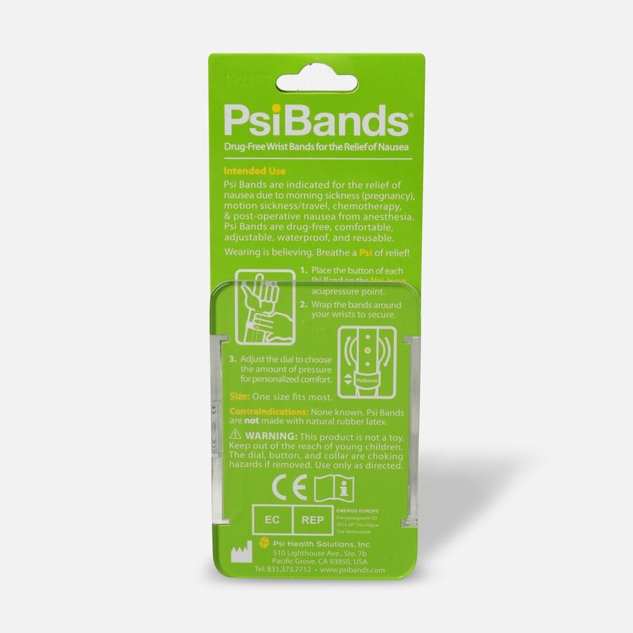 Psi Bands Nausea Relief Wrist Bands - Cherry Blossom, , large image number 1
