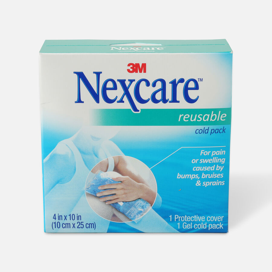 """3M Nexcare Reusable Cold Pack, 4"""" x 10"""", , large image number 0"""