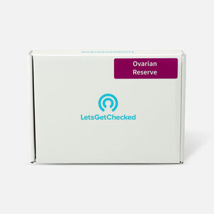 LetsGetChecked Ovarian Reserve Home Female Fertility Test