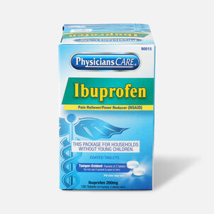 PhysiciansCare Ibuprofen, 100/Box