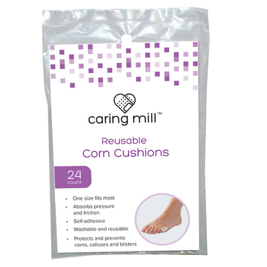 Caring Mill™ Reusable Corn Cushions 24 ct, , large image number 0