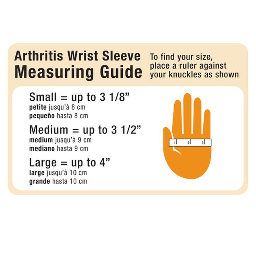 IMAK Compression Arthritis Wrist Sleeve, Large, , large image number 3