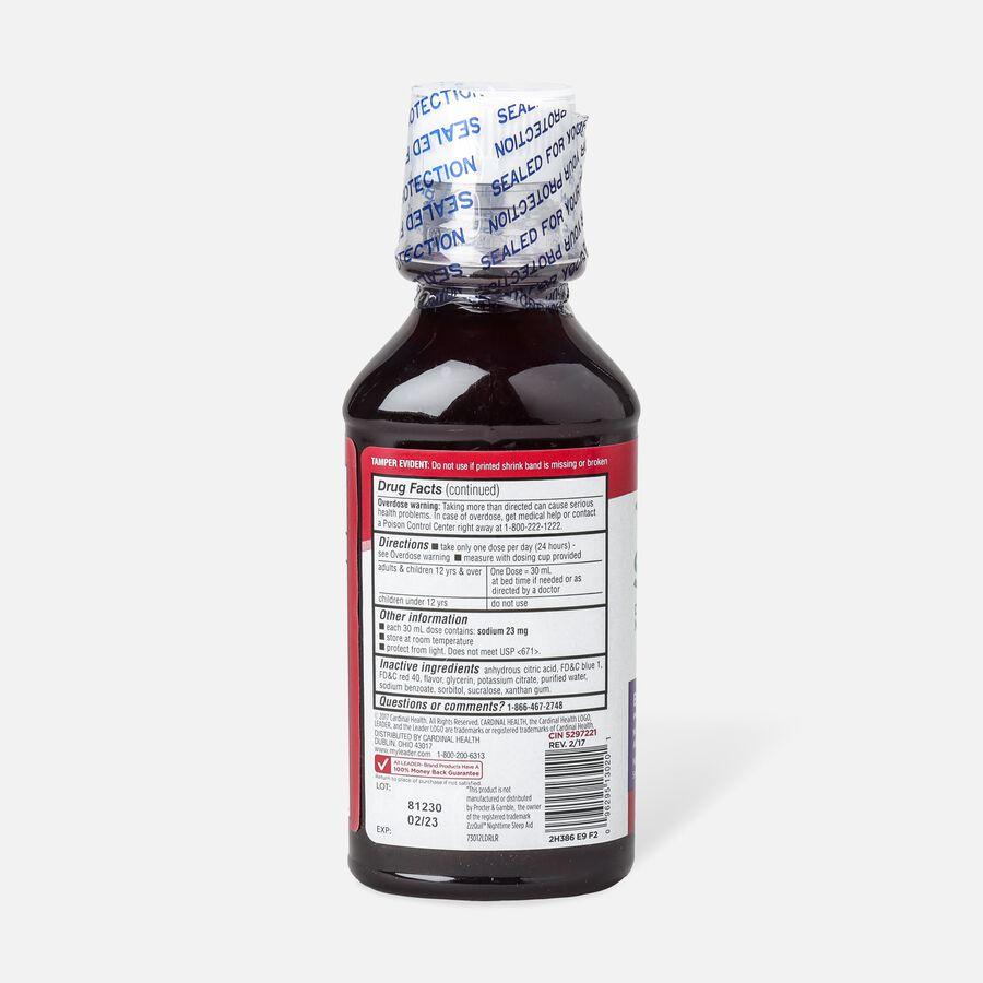 LEADER™ Sleep Aid 50mg Liquid Berry 12 oz, , large image number 1