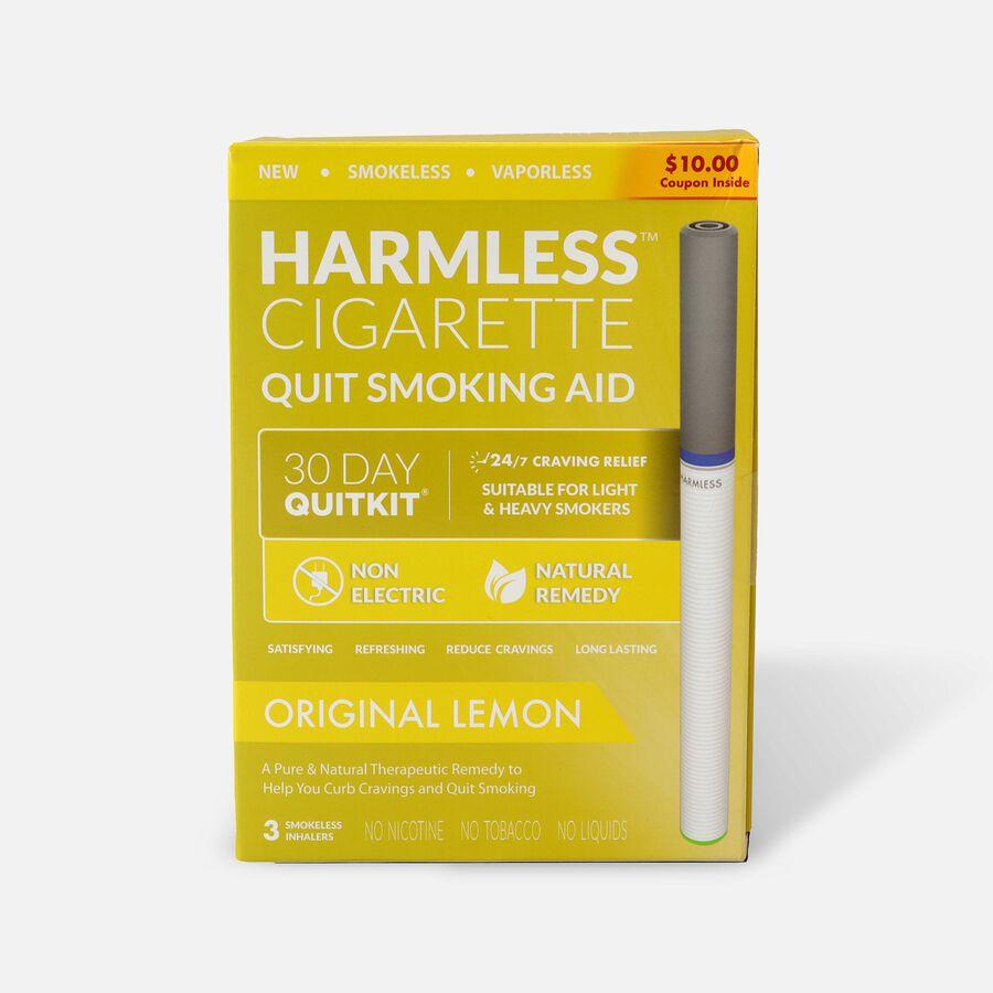 Harmless Cigarette Quit Smoking Aid, 30 Day Quit Kit, Lemon, , large image number 0