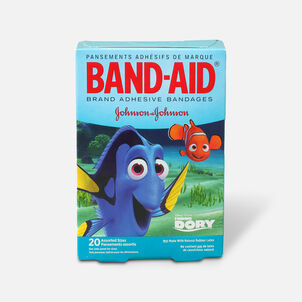 Band-Aid Adhesive Assorted Bandages Disney/Pixar Finding Dory, 20 ct.