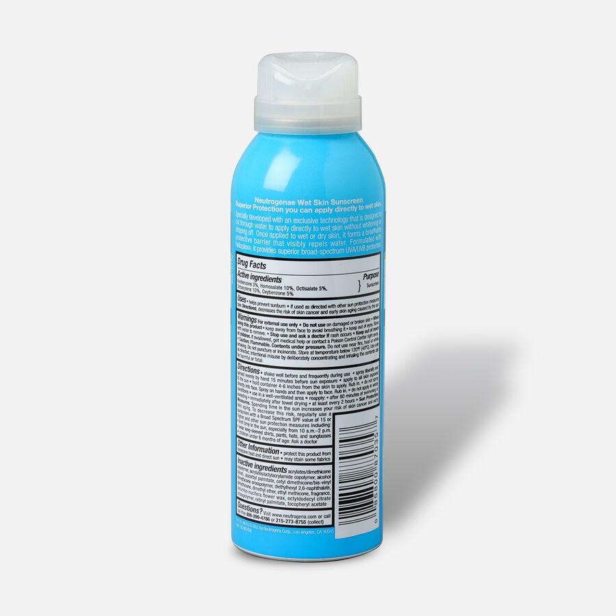 Neutrogena Wet Skin Sunscreen Spray, SPF 50, 5 oz, , large image number 1