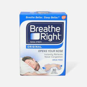 Breathe Right, Tan Strips, SM/MED, 30 ct.