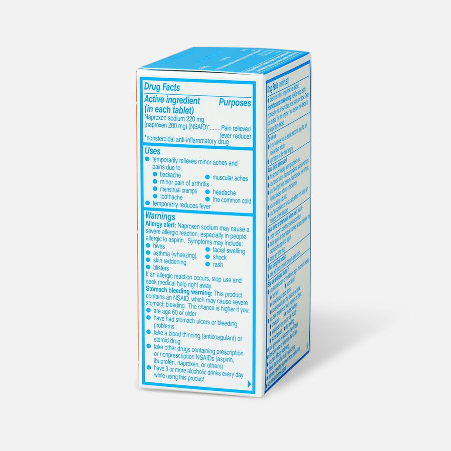 Aleve Back & Muscle Pain, 50ct, , large image number 3