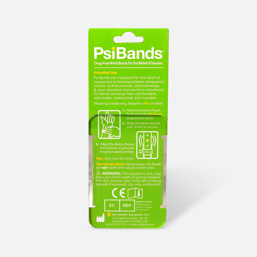 Psi Bands Nausea Relief Wrist Bands - Color Play, , large image number 1
