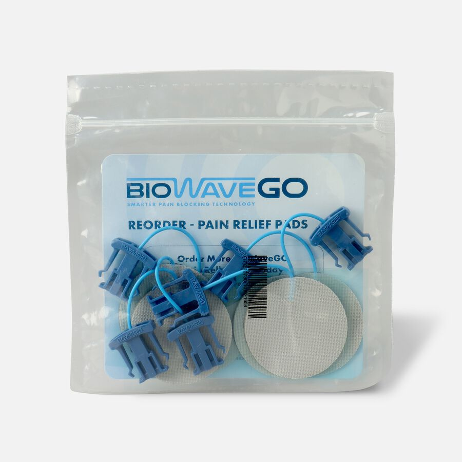 BioWaveGO Replacement Pain Relief Pads, , large image number 0