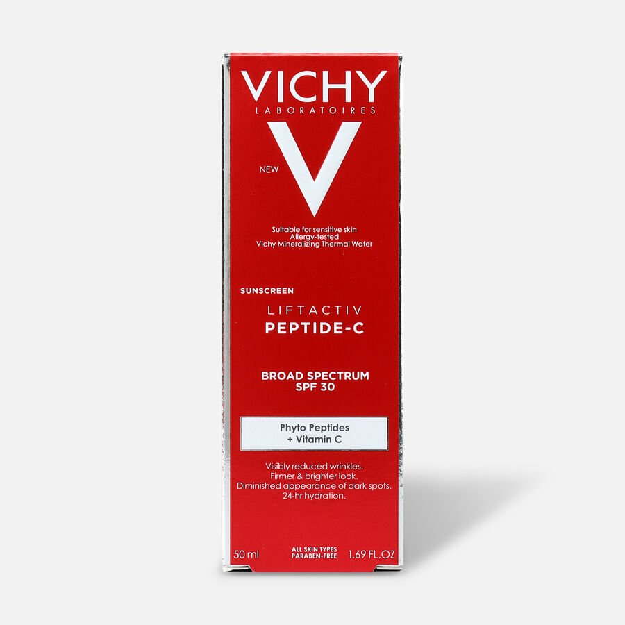 Vichy LiftActiv Peptide-C Sunscreen SPF 30, 1.69oz, , large image number 0