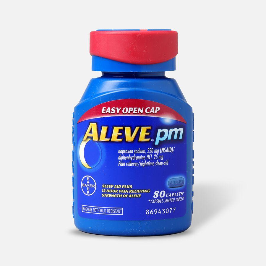 Aleve PM Caplets, Soft Grip Cap, 80ct, , large image number 0