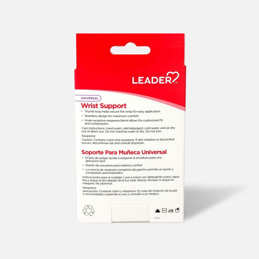 Leader Neoprene Wrist Support with Thumb Loop, OSFM, , large image number 1