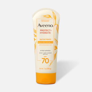 Aveeno Protect + Hydrate Moisturizing Sunscreen Lotion, SPF 70, 7 oz