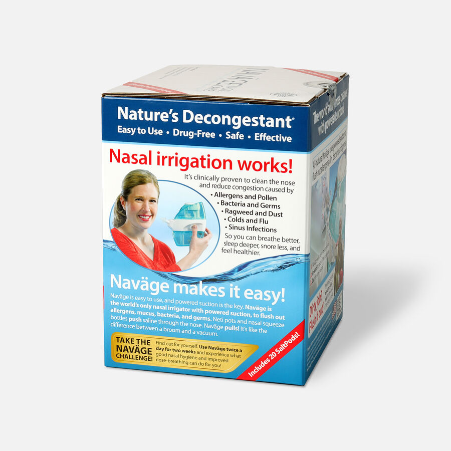 Navage Saline Nasal Irrigation Deluxe Kit, , large image number 6