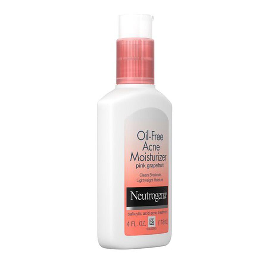Neutrogena Pink Grapefruit Oil-Free Facial Moisturizer, 4oz., , large image number 5