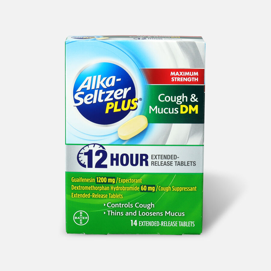 Alka-Seltzer Plus Maximum Strength Cough & Mucus, 14ct, , large image number 0