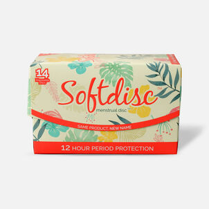 Softdisc Menstrual Discs, 14ct