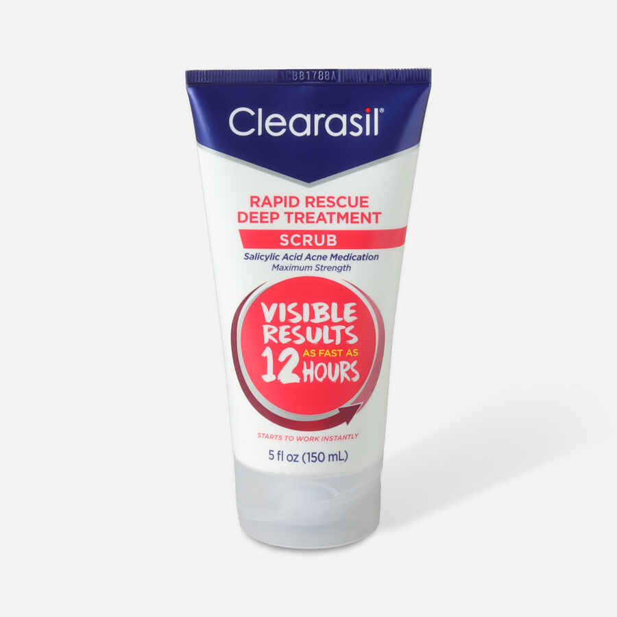 Clearasil Rapid Rescue Deep Treatment Scrub, 5oz., , large image number 0
