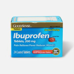 GoodSense® Ibuprofen Coated Tablets 200 mg, Pain Reliever & Fever Reducer