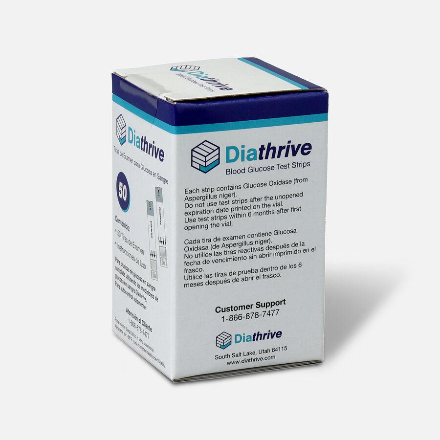 Diathrive Glucometer Test Strips - Vial of 50, , large image number 2