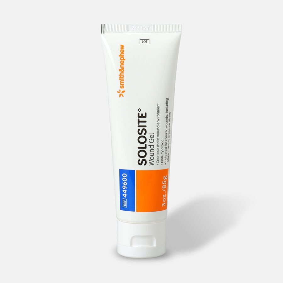 Smith and Nephew Solosite Hydrogel Wound Gel - 3 oz, , large image number 0