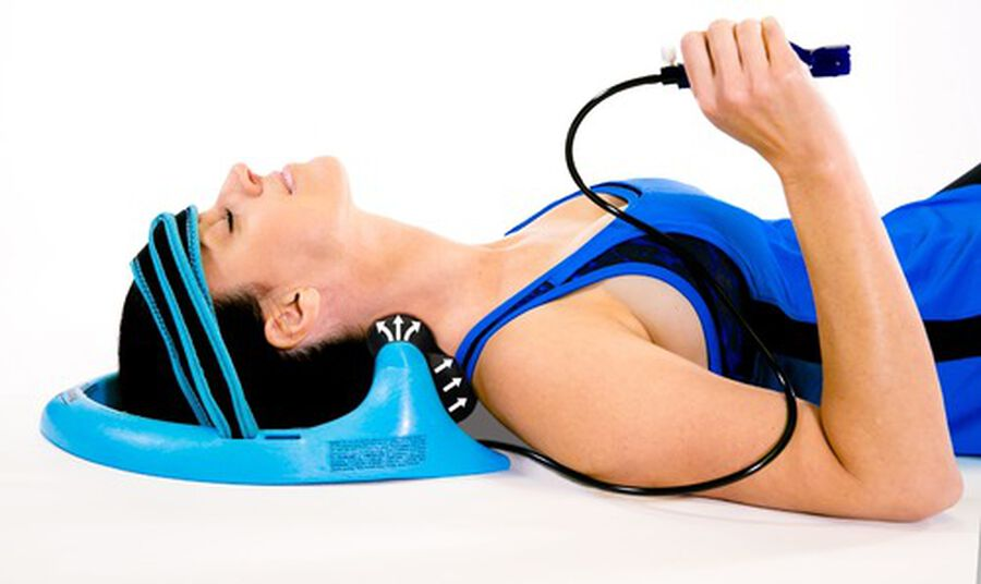 Posture Pump® Dual Disc Hydrator®, Relieves Neck Pain, Model 1400-D, , large image number 0