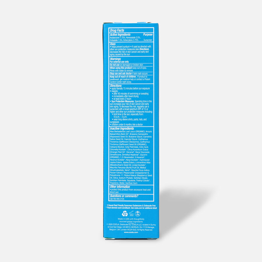 Coola Classic Face Organic Sunscreen Lotion SPF 30 Cucumber, 1.7oz, , large image number 2