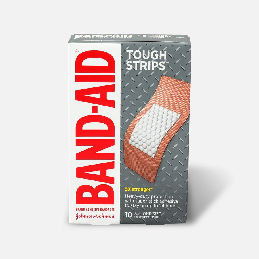 Band-Aid Tough-Strips, Extra Large, 10ct, , large image number 0