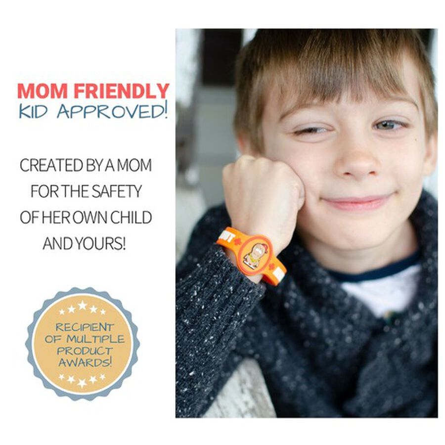 AllerMates Children's Allergy Alert Bracelet - Peanut, , large image number 3