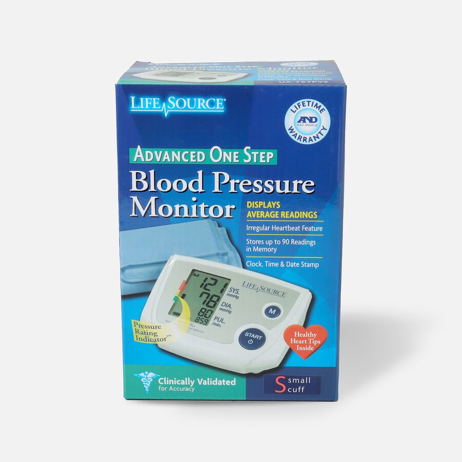 Lifesource Automatic Arm Blood Pressure Monitor with Small Cuff, , large image number 0
