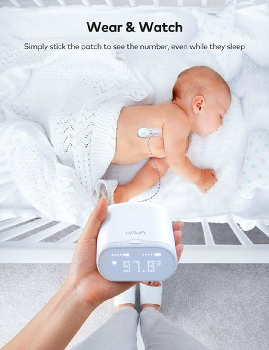 VAVA Smart Baby Thermometer, , large image number 7