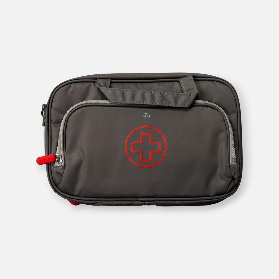 AllerMates Parker 2 in 1 Insulated Large Deluxe Travel Medicine Bag Cases, , large image number 0