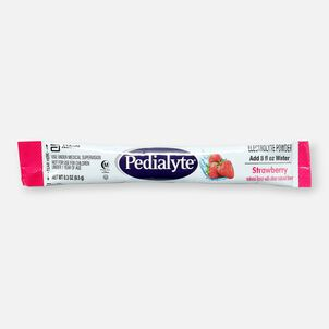 Pedialyte® Electrolyte Powder Pack, Punch, Grape, Apple and Strawberry Flavor Variety, 0.3 oz, 8ct