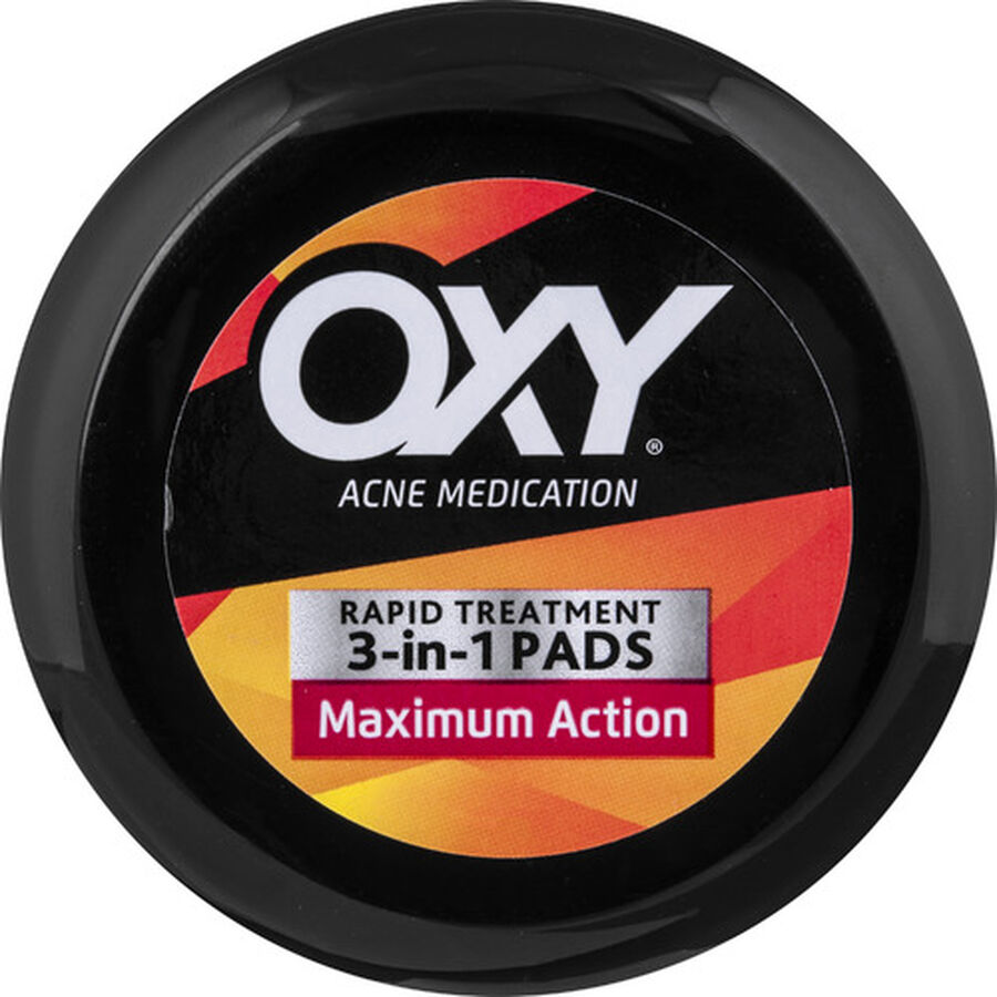OXY Maximum Action 3-in-1 Treatment Pads - 90ct, , large image number 1