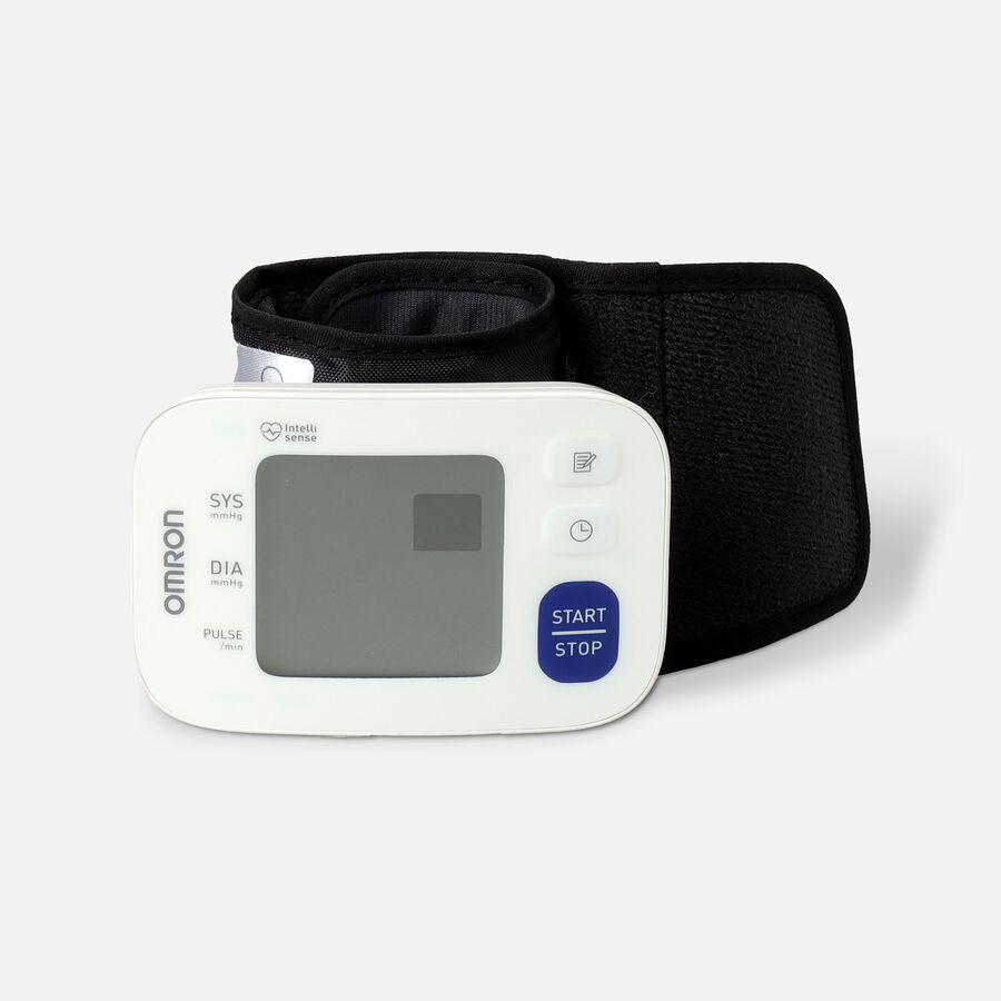OMRON 3 Series Wrist Blood Pressure Monitor (BP6100); 60-Reading Memory with Irregular Heartbeat Detection, , large image number 3