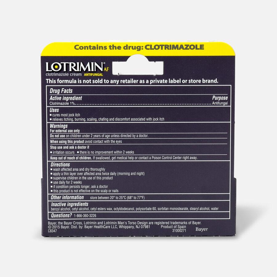 Lotrimin AF Antifungal Jock Itch Cream, .42 oz, , large image number 1