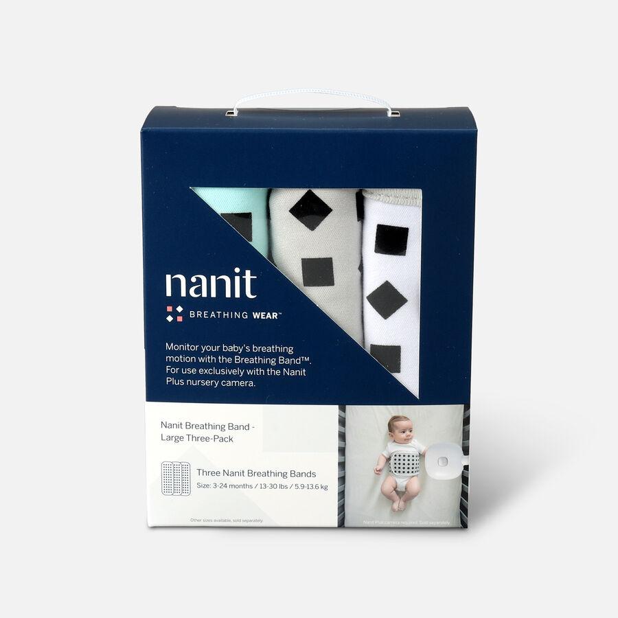 Nanit Breathing Wear Band 3pk, Size Large, , large image number 0