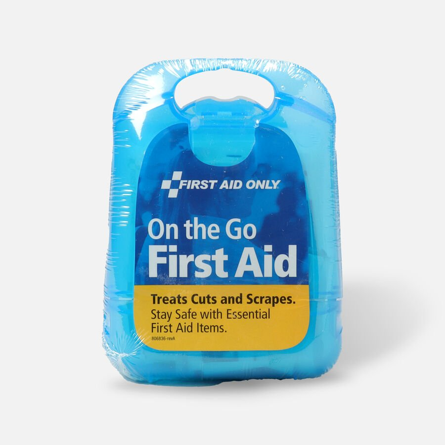 First Aid Only on-the-go First Aid Kit, 27 pcs, , large image number 0