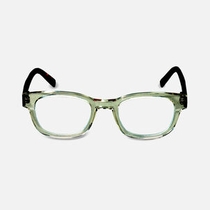 EyeBobs Butch Reading Glasses,Clear