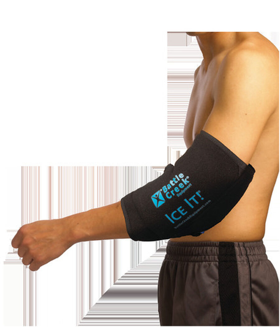 """Battle Creek Ice It! ColdCOMFORT Ankle/Elbow/Foot System 10.5"""" x 13"""", , large image number 3"""