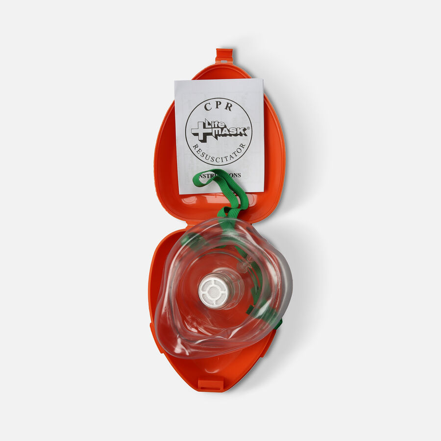 CPR Resuscitator Mask, by Life Mask, , large image number 2